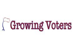Growing voters - nonprofit website